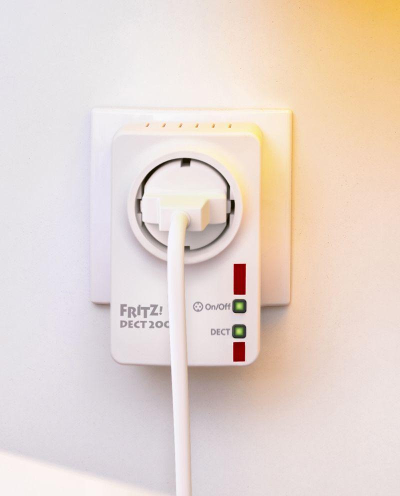 AVM FRITZ!DECT 200  - Smartswitch zur Nachrüstung für das vernetzte Heim