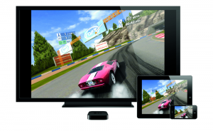 AppleTV iPad2 iPhone4S Real Racing