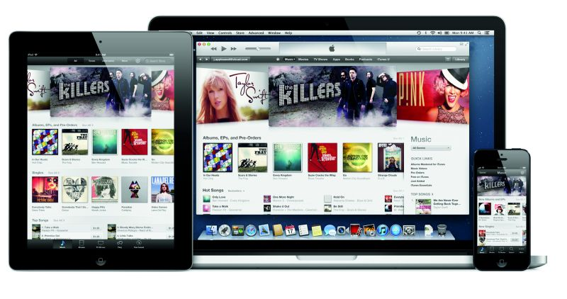 Praxis: Musik für das vernetzte Heim iTunes von Apple ist eine Lösung zur Verwaltung von digitaler Musik und der Konvertierung von Medien (Bild: www.apple.de).