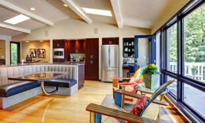 Moderne offen Küche Lifestyle