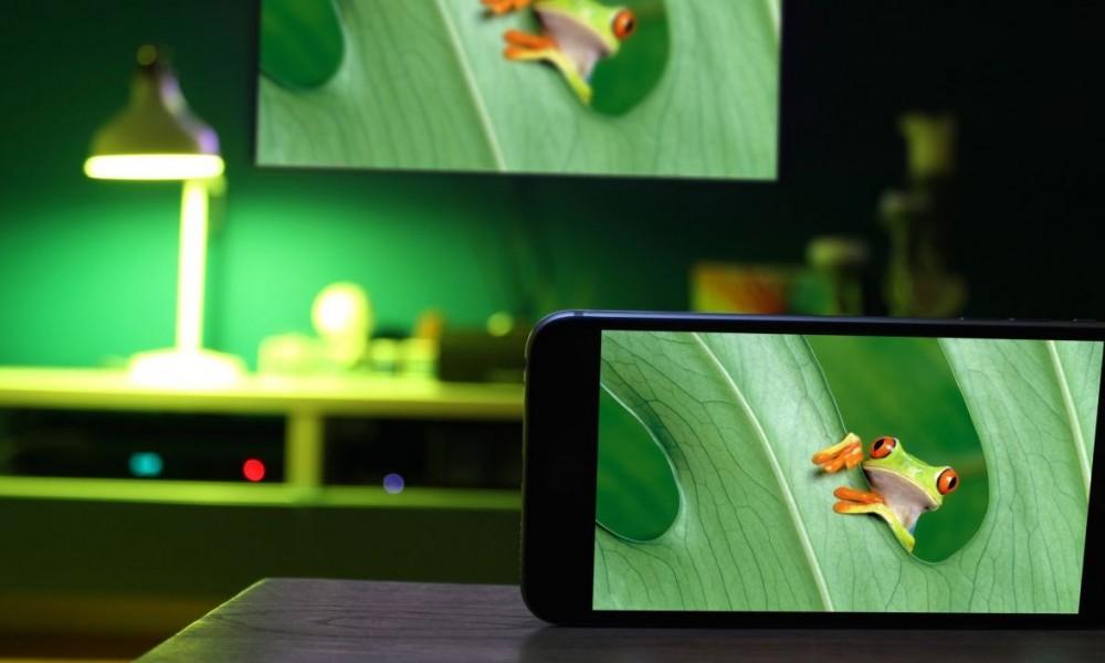 beleuchtung und tv app hue camera for philips hue vernetzte welt. Black Bedroom Furniture Sets. Home Design Ideas
