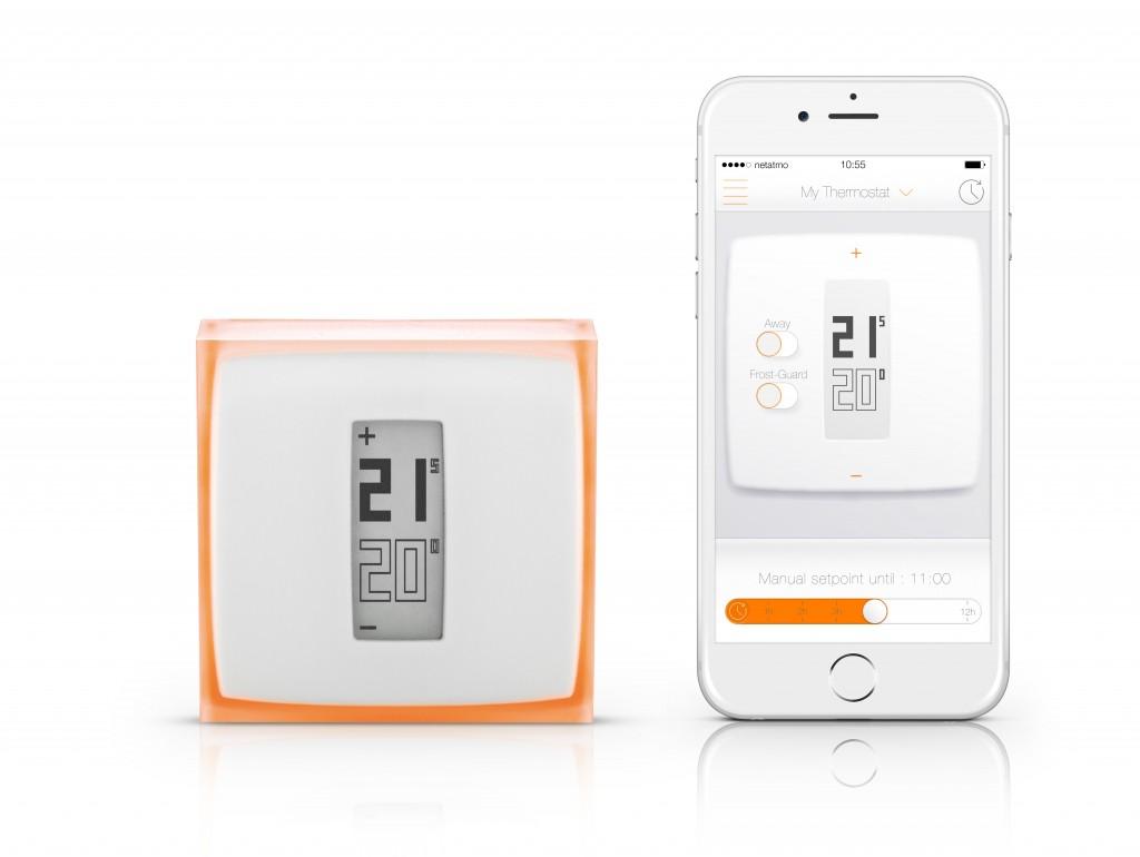 Heizungssteuerung: Netatmo Thermostat