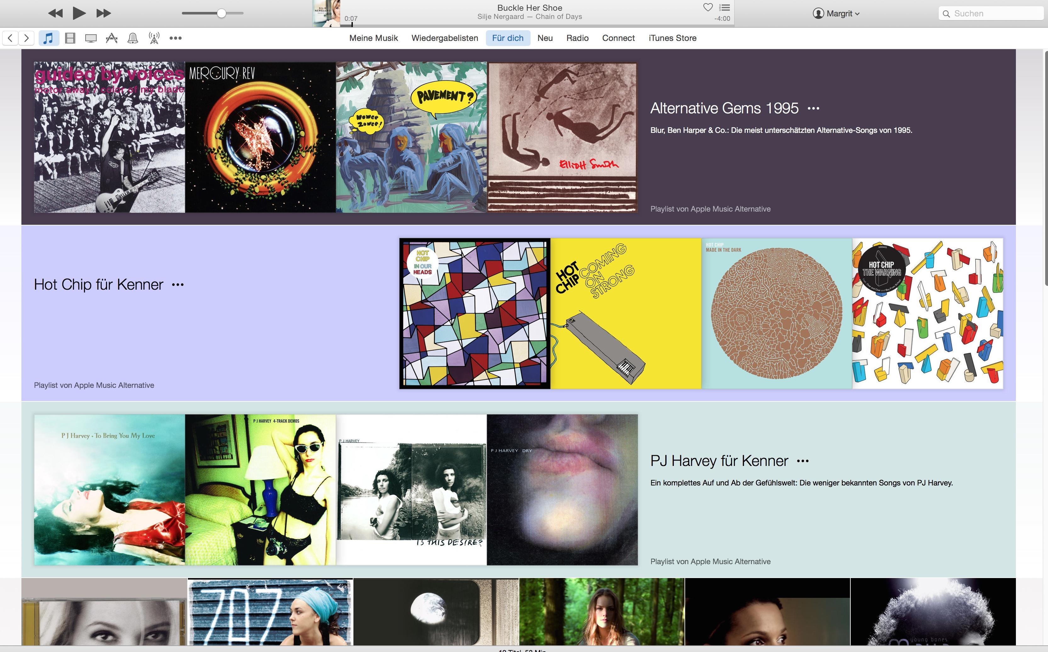 Apple Music Empfehlung