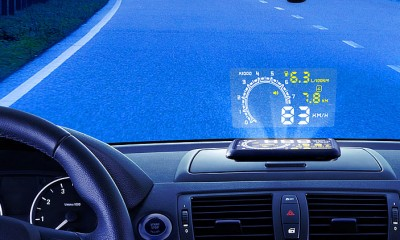 Lescars Head-up-Display V3 HUD-55C