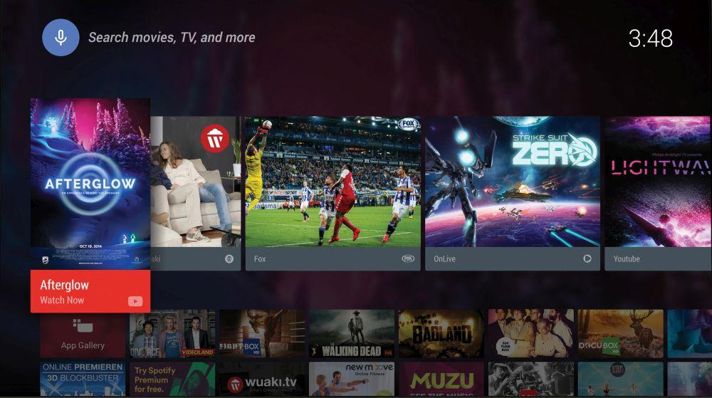 SmartTV mit Android von Philips: Die Apps für die Fernseher
