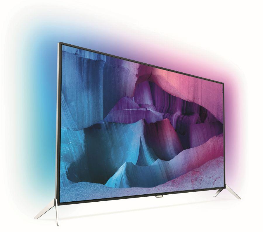 SmartTV mit Android von Philips: 7600 SmartTV seitlich