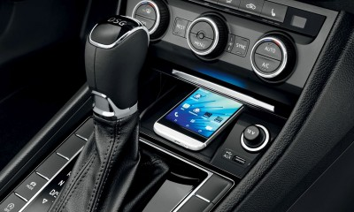 SKODA Superb Smartlink - vernetzte Autos nutzen Smartphone Apps