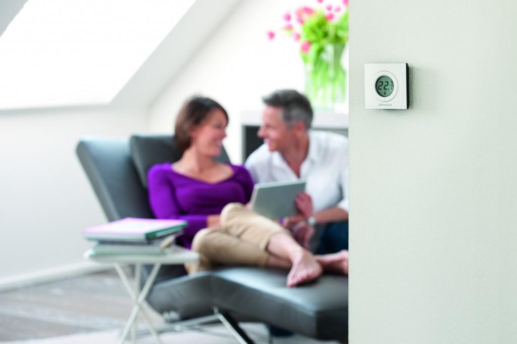 Devolo Home Control: Wandthermostat - Heimsteuerung für alle
