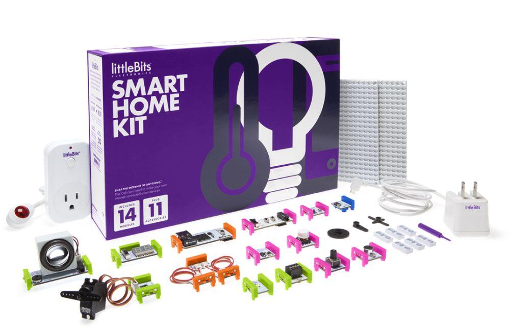 littleBits – SmartHome zum Selbermachen: SmartHome Kit Box und Elemente