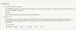DECT-Strahlung reduzieren in AVM Fritzbox