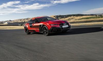 Automatisiertes Fahren: Audio Rennwagen mit Connected Car