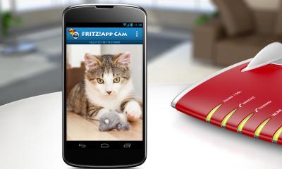 Smartphone wird zur Überwachungskamera: AVM FRITZApp Cam