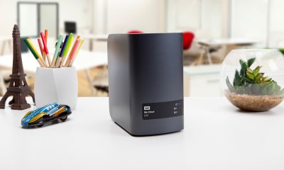 Western Digital NAS für Z-Way