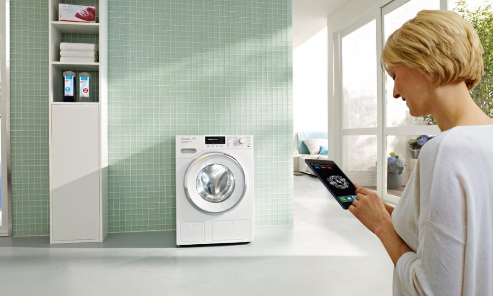 miele editionconn ct die vernetzte waschmaschine vernetzte welt. Black Bedroom Furniture Sets. Home Design Ideas