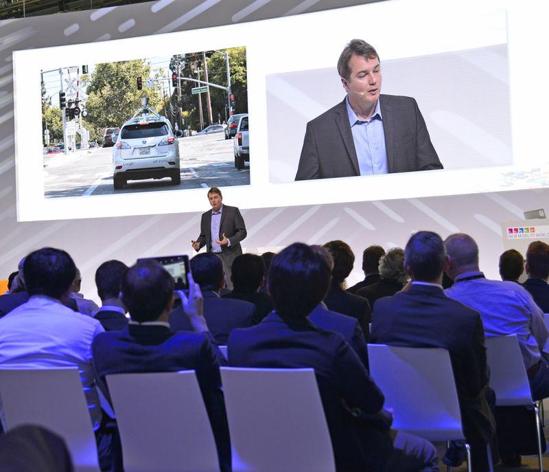 IAA 2015 - New Mobility World: Cris Urmson