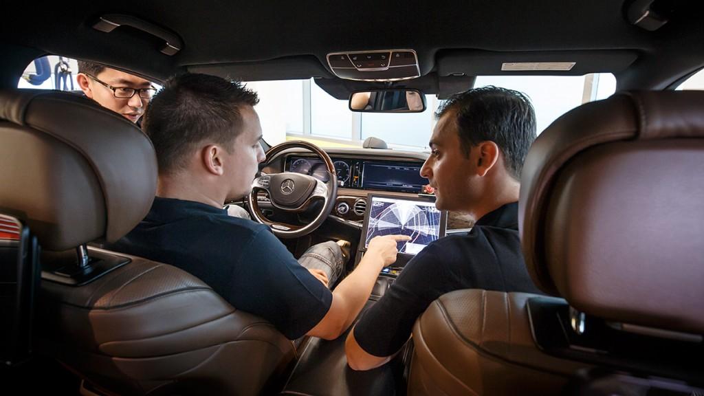 Prototyp Mercedes Benz S500 Inteligent Drive