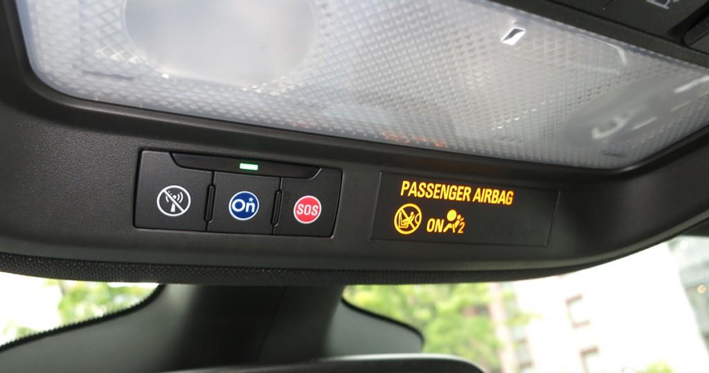 Opel Astra 2015 OnStar Bedienfeld