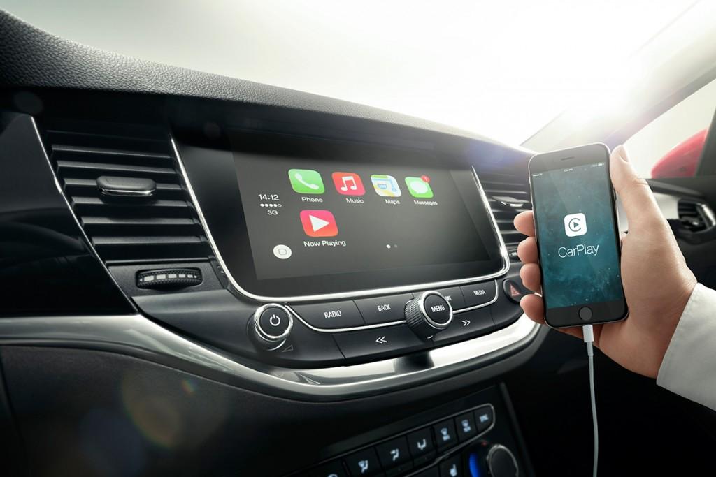 Opel Astra 2015 Navi 900 Apple Car Play