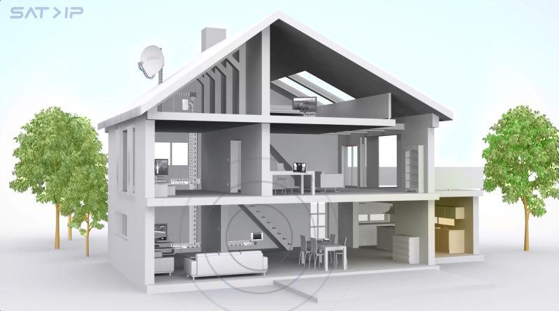 sat over ip fernsehen per satellit im ganzen haus vernetzte welt. Black Bedroom Furniture Sets. Home Design Ideas