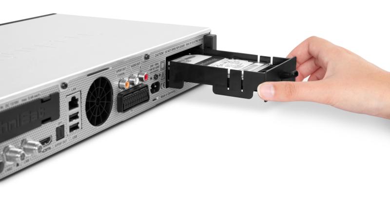 Receiver TechniCorder: ISIO STC mit Festplatte