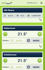 Mobilcom-debitel SmartHome: Steuerungs-App