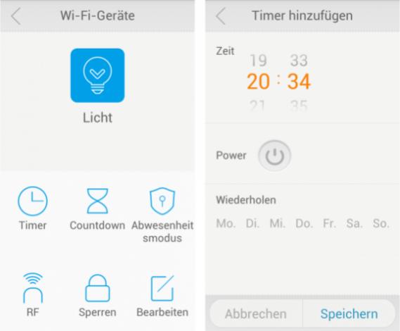 WLAN-Steckdose: Casa Control Basis WIFI Screens