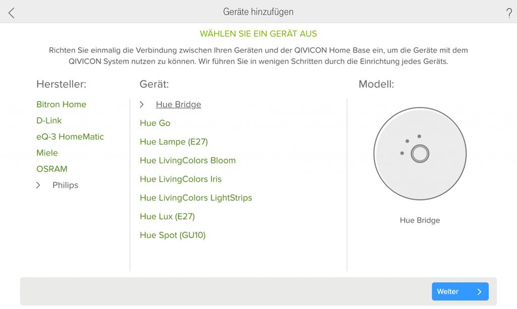 Philips Hue einbinden in Telekom Smart Home