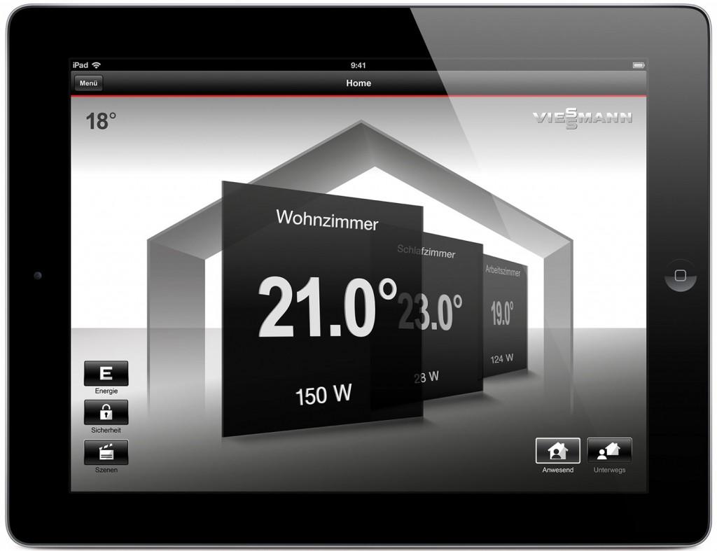Viessmann Vitocomfort 200: Steuerung per App