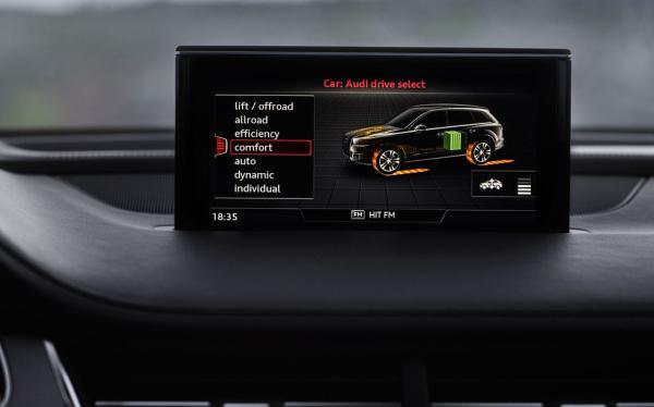 Apple CarPlay Cockpit mit Display