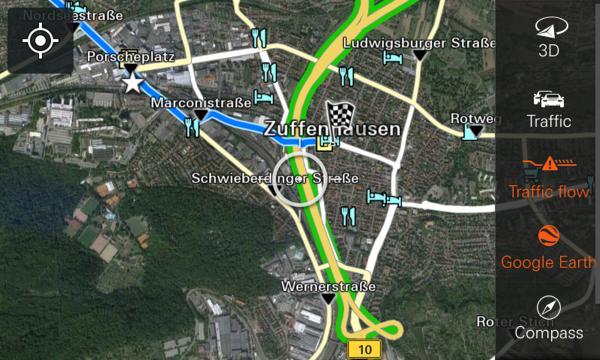 Apple CarPlay Navigation Porsche 911