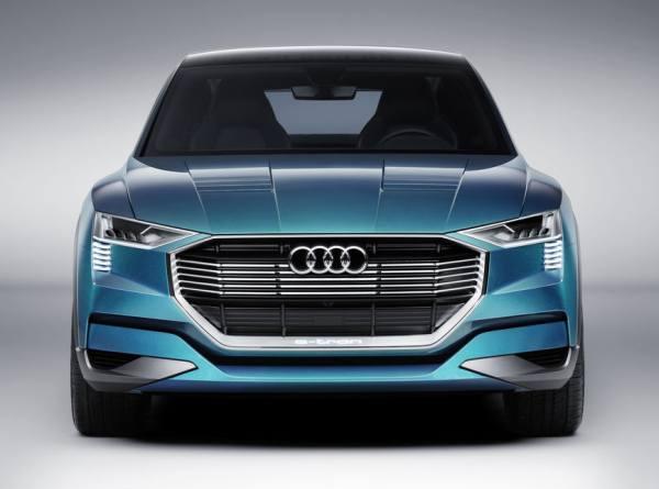 Audi e-tron Frontansicht