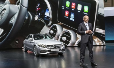 Apple CarPlay: Mercedes-Benz at the Geneva International Auto Show 2014