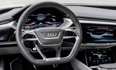 Audi e-tron - Cockpit