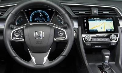 Honda Civic 2016: Android und Apple vernetzt