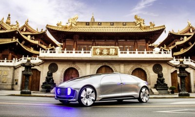 Baidu CarLife: Mercedes-Benz F 015 Luxury in Motion in Shanghai, Mai 2015