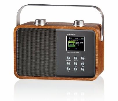 Digital Radio Albrecht Audio DR 850 Retro Design