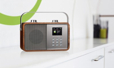 Digital Radio Albrecht DR 850 Retro Design