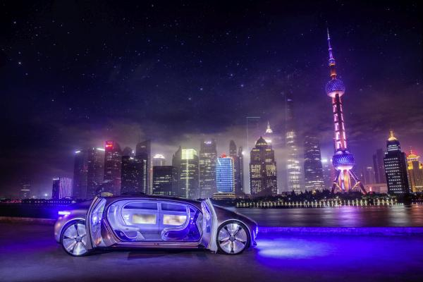 Baidu CarLife: Mercedes-Benz F 015 Luxury in Motion in Shanghai, Mai 2015Merc