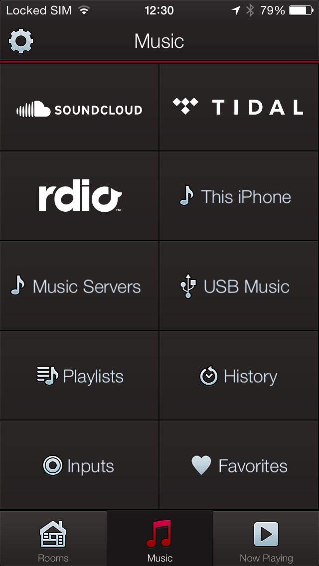 Multiroom Audio Denon HEOS App