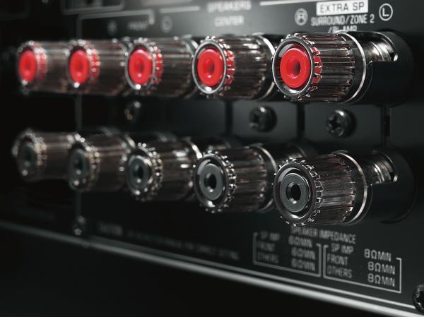 Multiroom Receiver Yamaha RXS601S601D SP Terminal