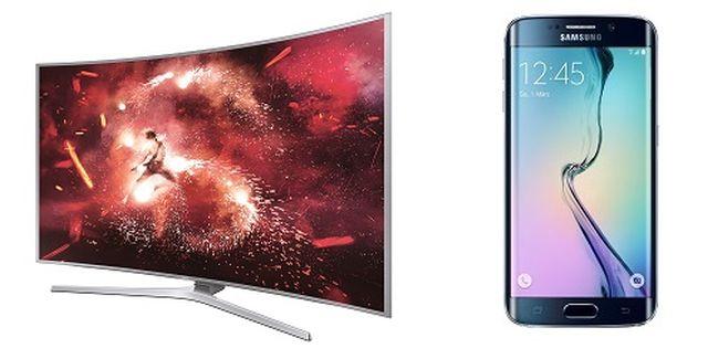 Samsung Bundle Aktion Zweinachtszeit Smartphone TV
