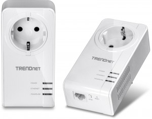 Powerline Adapter Trendnet TPL-421E2K_EU Kit