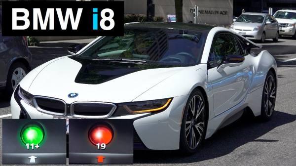 Vernetzte Ampeln - Enlighten BMWi8