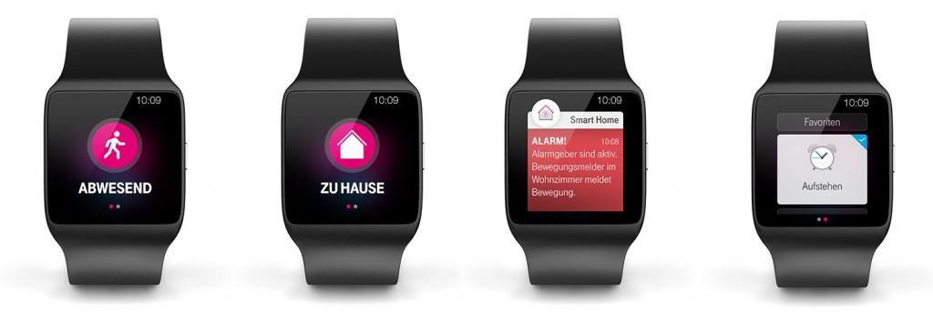Smartwatch: Telekom Smart Home