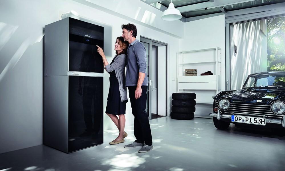 buderus control center connect den heizkessel per. Black Bedroom Furniture Sets. Home Design Ideas