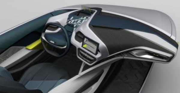 Cockpits der Zukunft: Faurecia-Entwurf