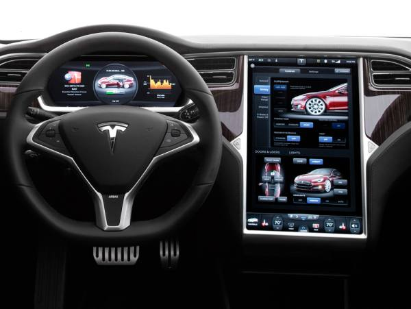 Cockpits der Zukunft:Tesla Display