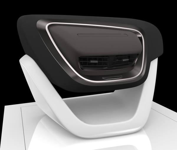 Cockpits der Zukunft: Faurecia-Studie