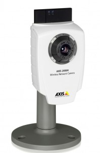 Fernzugriff IP-Kamera Modell Axis 206W