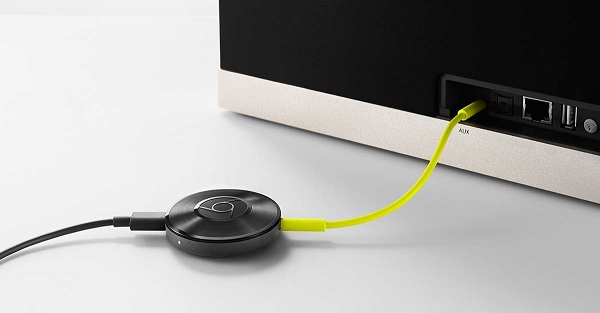 Google Chromecast Audo WLAN Musik Streaming